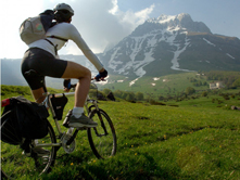 Escursioni in mountain-bike