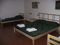 Camera con letto doppio e singolo